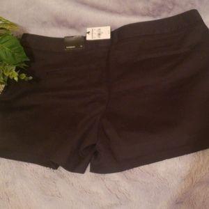 12  womens black shorts
